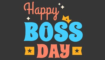 Boss's Day Card Messages