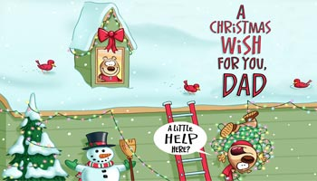 Christmas Messages for Father