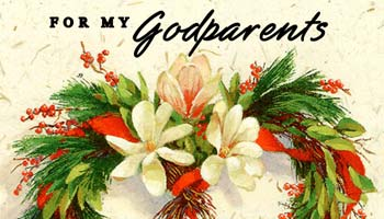 Christmas Messages for Godparents