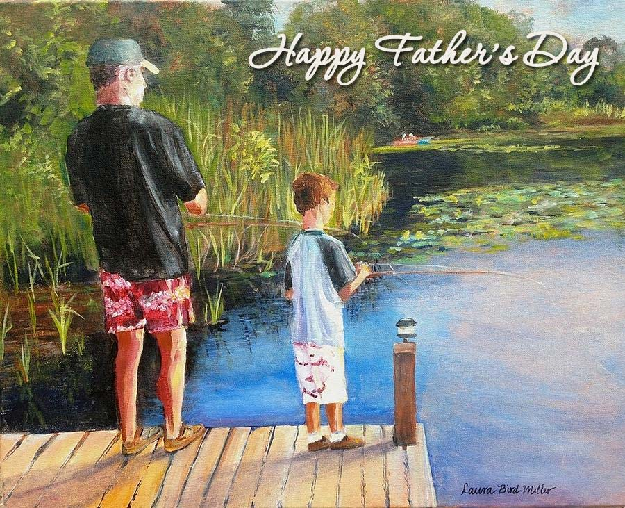 Son, you're doing a fantastic job being you and because of that, you are one of the most awesome dads and fantastic sons on the planet! Happy Father's Day!