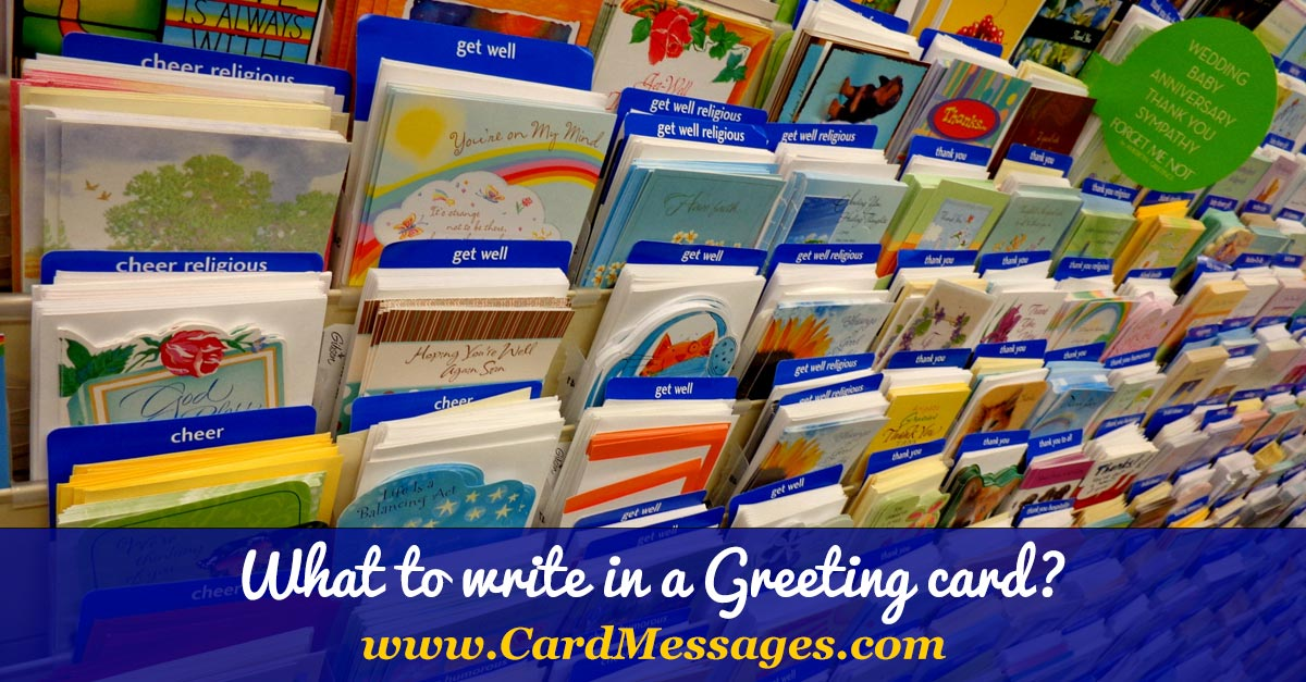 What to write in a greeting card card messages m4hsunfo