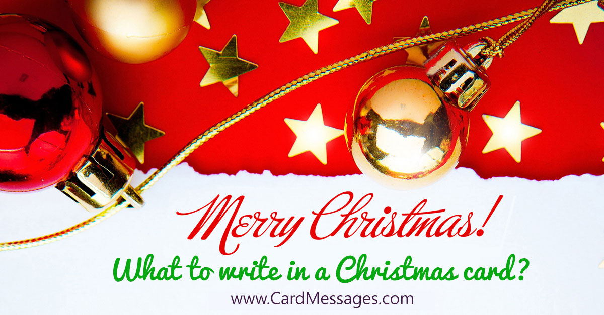 Christmas Messages For Daughter Card Messages