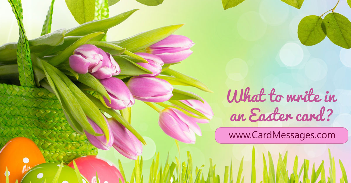 What to write in an easter card card messages m4hsunfo