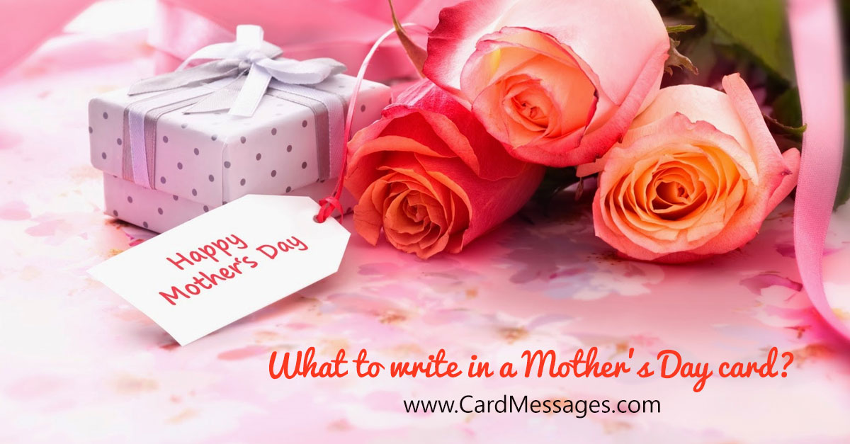 What to write in a mothers day card card messages m4hsunfo