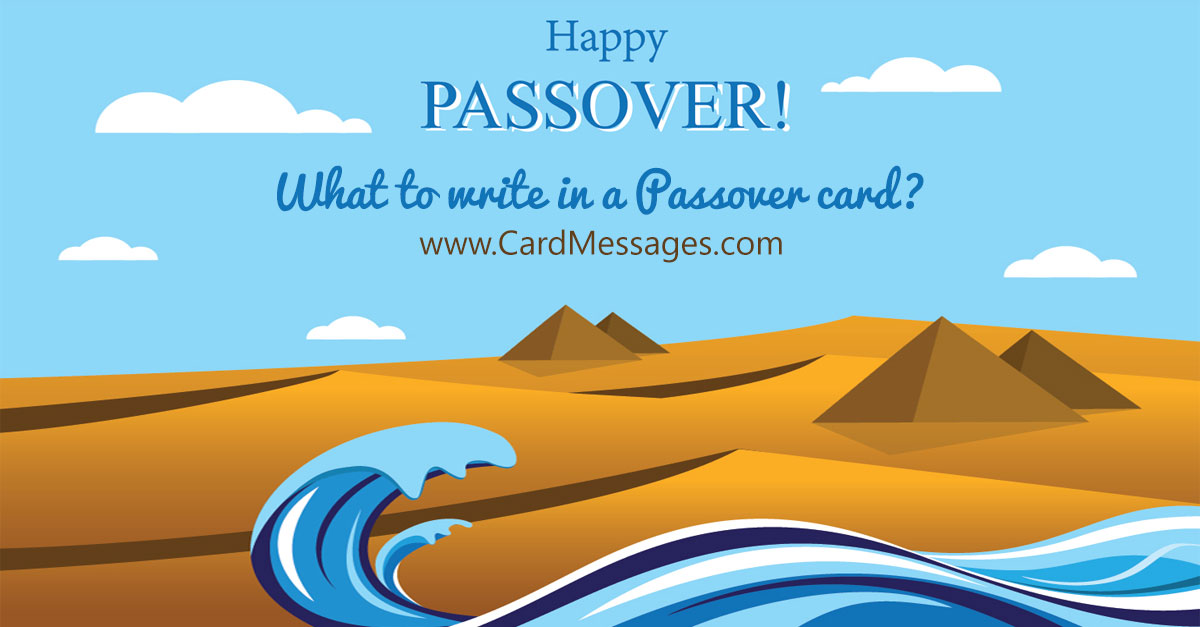 What to write in a passover card card messages m4hsunfo Image collections